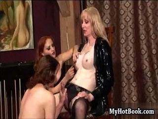 Janet Janine and Mistress Gemini are in the dunge | mistress