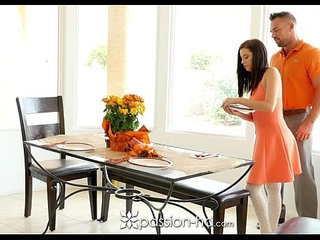 Passion HD Guy fucks his step daughter Carolina Sweets on Thanksgiving | fetishgayhigh definitionstepdaughtersweet