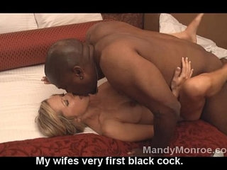 Wifes first black cock and creampie | black cockcreampiefirst timewife