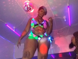 Cherokee Dass Performs At QSL Halloween Strip Party in North Phila,Pa | asspartystriptease
