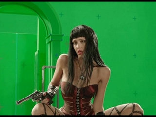 Jessica Alba Stripping Behind The Scenes Green Screen From Sin City | ass fuckingstriptease