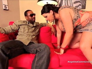 Big titted angelina castro pounded hard by big black cock | bbcpoundingtitjob