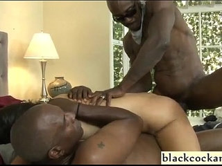 Interracial dp with ass to mouth   ass to mouthinterracial