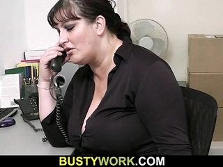He pounds fat bitch from behind at work | ass fuckingbitchfatpounding