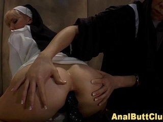 Nun submissive ass toyed   asssubmissive