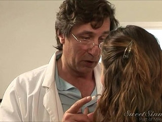 Allie seducing two doctors in one day | doctor