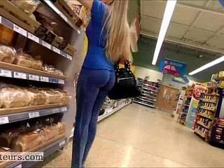 Perfect round ass in spandex   perfectroundspandex
